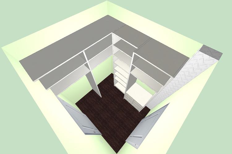 Дизайн-проект гардеробной
